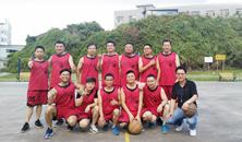 睿华科技组织2018年第一届篮球比赛