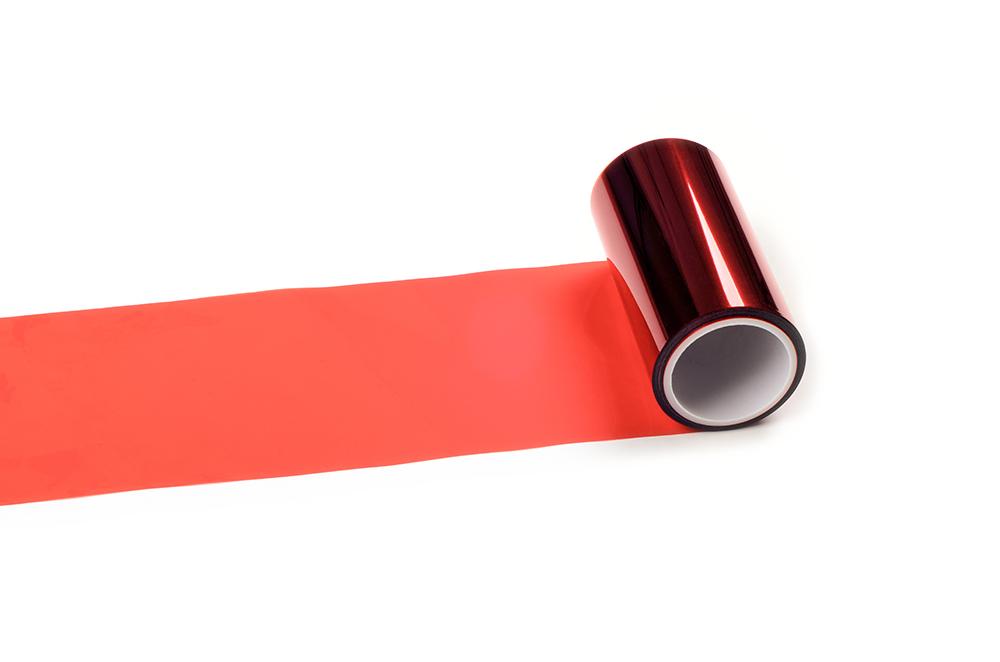 0.05mm红色PET离型膜20-30g