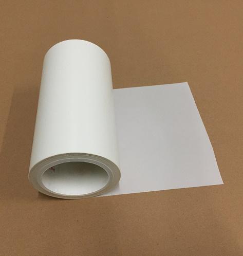 0.05mm哑光乳白色PET非硅离型膜