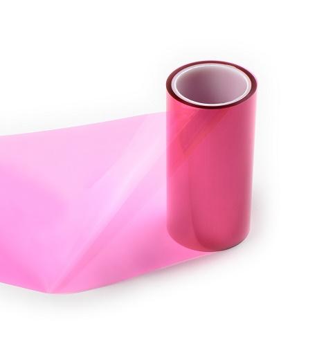 0.075mm红色PET离型膜60-80g