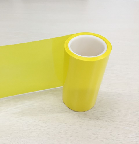 0.075mm黄色PET离型膜30-40g