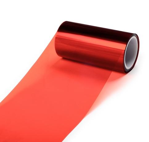 0.05mm红色PET离型膜35-45g